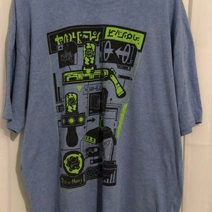 Loot Crate Shirts - Loot Crate Rick & Morty graphic tee 2XL